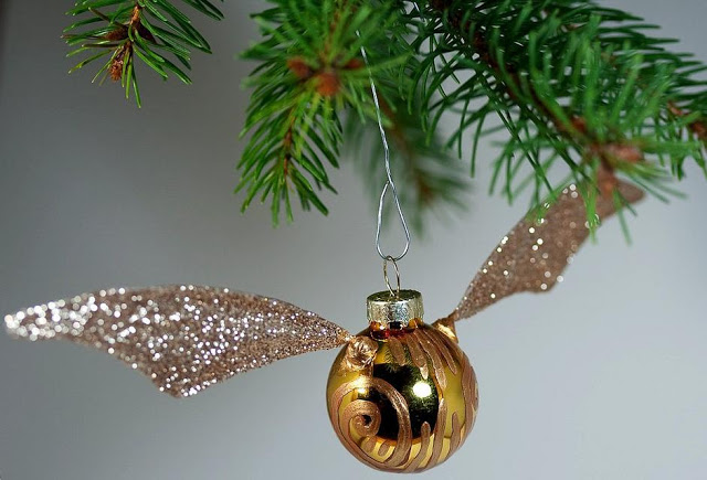 Golden Snitch Harry Potter Ornament
