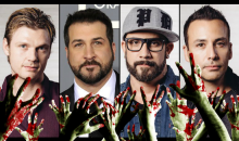 Members of Backstreet Boys and *NSYNC are starring in a zombie movie. For real.